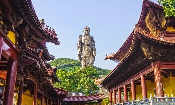 Đại Phật Linh Sơn, Mã Sơn, Trung Quốc - tượng Phật lớn nhất thế giới