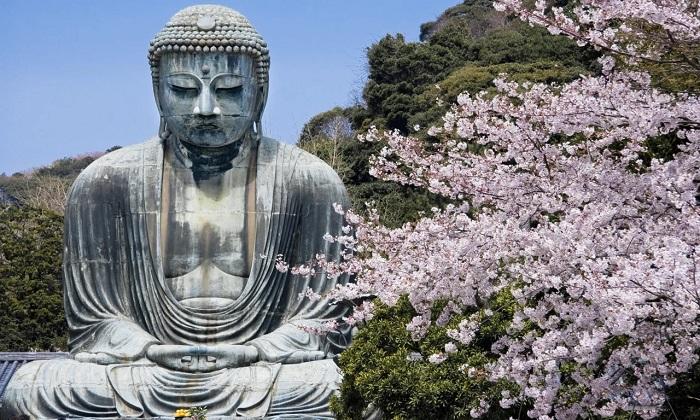 Tượng Phật ởKamakura - tượng Phật lớn nhất thế giới