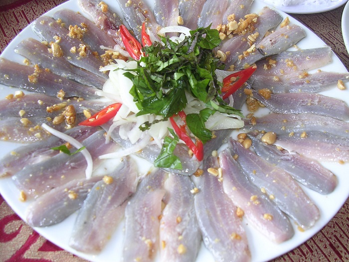 Address to eat seafood Phu Quoc - specialty herring salad