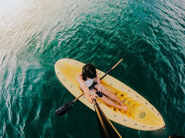 7 điểm chèo thuyền kayak đẹp ở Việt Nam - Bãi Sao Phú Quốc