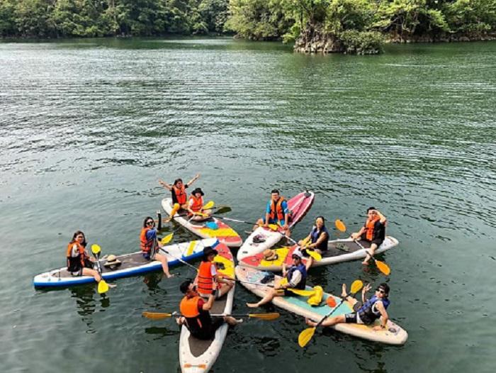 7 điểm chèo thuyền kayak đẹp ở Việt Nam - Hồ Ba Bể