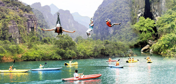 7 điểm chèo thuyền kayak đẹp ở Việt Nam - Sông Chày