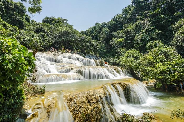 Vẻ đẹp của thác Mây Thanh Hóa - Du lịch thác Mây Thanh Hóa