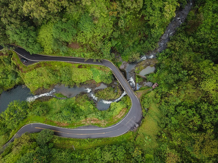 đường Hana -  địa điểm du lịch nổi tiếng ở Hawaii