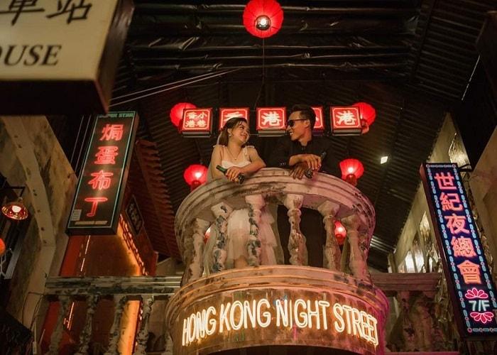 Hẻm phố Hong Kong Hạ Long - có địa chỉ ở đâu