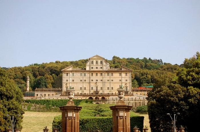Villa Frascati gần Rome - những khu vườn đẹp nhất ở Ý