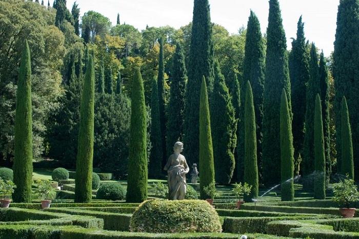 Vườn Giardino Giusti, Verona - những khu vườn đẹp nhất ở Ý