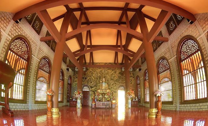 12 famous pagodas in Vung Tau - The architecture is similar to Truc Lam Da Lat Zen Monastery,