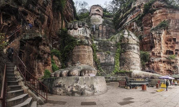 Lạc Sơn Đại Phật, Trung Quốc - tượng Phật lớn nhất thế giới