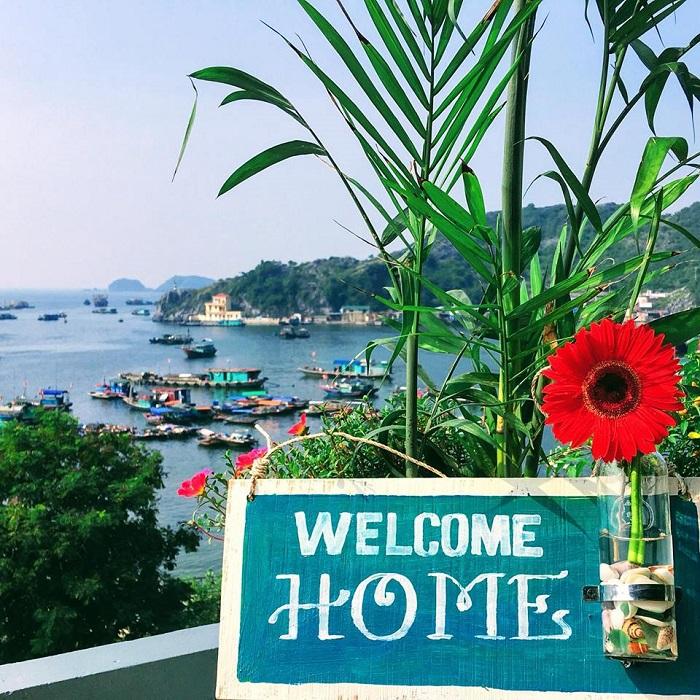 Mona Homestay - chào mừng bạn trở về nhà - những homestay Cát Bà xinh xắn