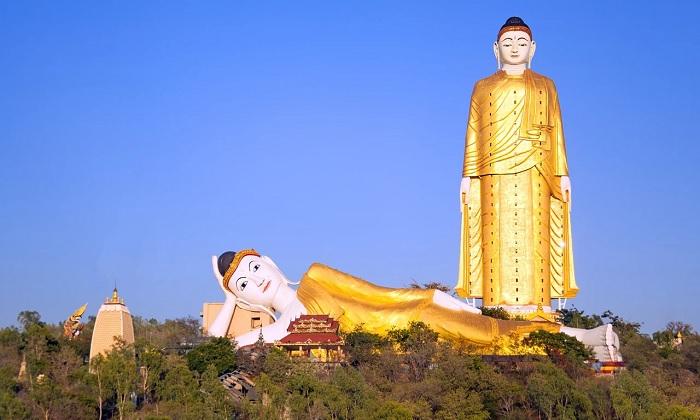 Những vị Phật vĩ đại của Monywa - tượng Phật lớn nhất thế giới