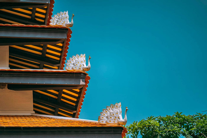 Huyen Khong Pagoda 1 in Hue - unique architecture of the works