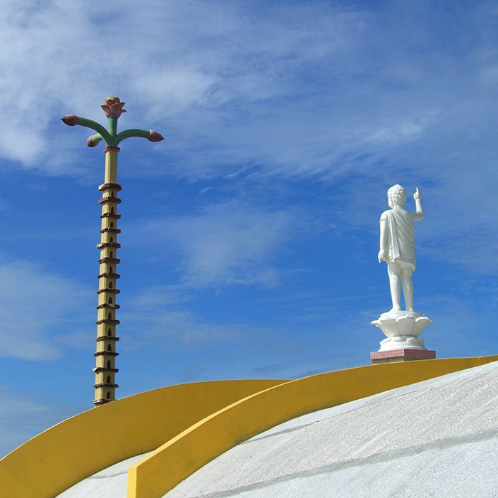 12 famous temples in Vung Tau - Nirvana Tinh Xa are located in Nui Nho