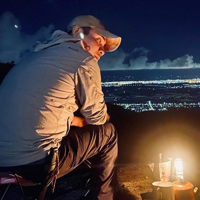 Beautiful night view - Dinh Mountain Vung Tau