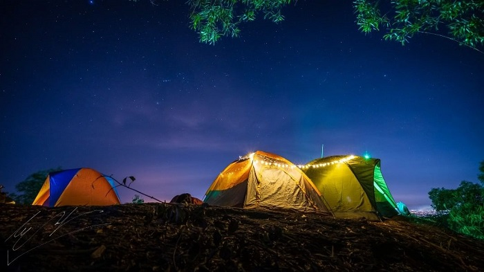 overnight camping - Dinh mountain in Vung Tau