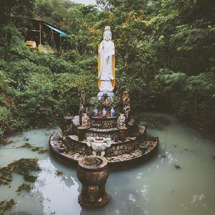 Ancient Western Pagoda - Dinh Mountain in Vung Tau