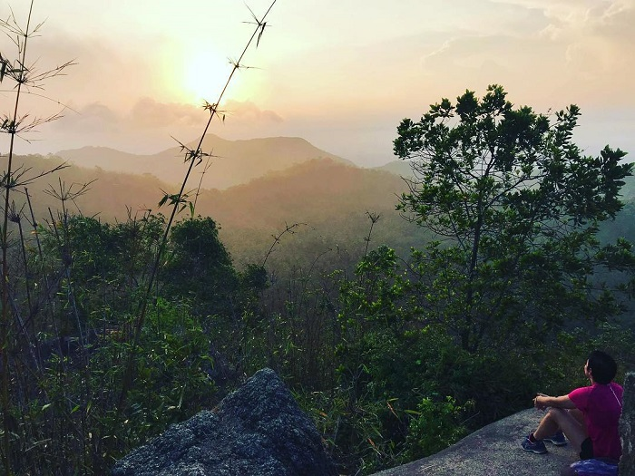 Mount Dinh Vung Tau - watch sunrise from the mountain