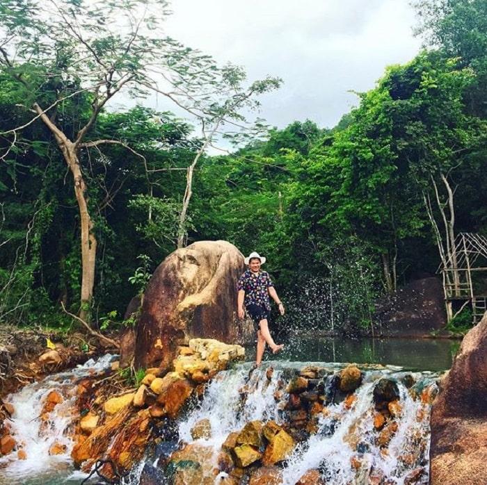 poetic scene in Suoi Tien - Dinh Mountain in Vung Tau