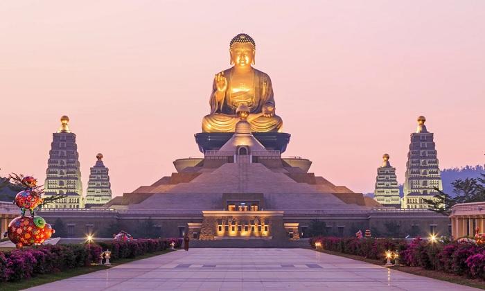 Phật Quang Sơn, Cao Hùng, Đài Loan - tượng Phật lớn nhất thế giới