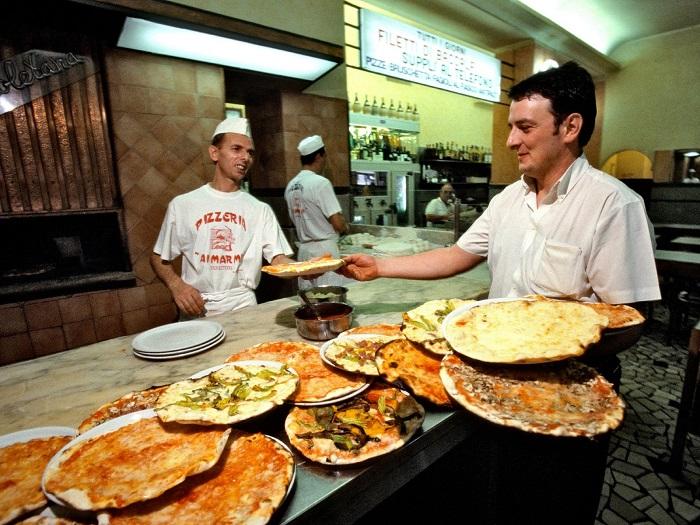 Tìm hiểu về bánh Pizza Ý - tiệm bánh Ai marmi
