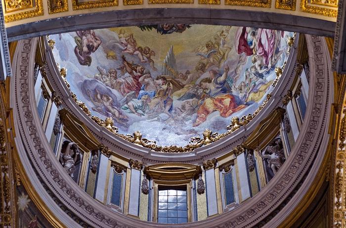 Mái vòm trong Nhà thờ Hồi giáo Thánh Peter - Vương cung thánh đường San Marco
