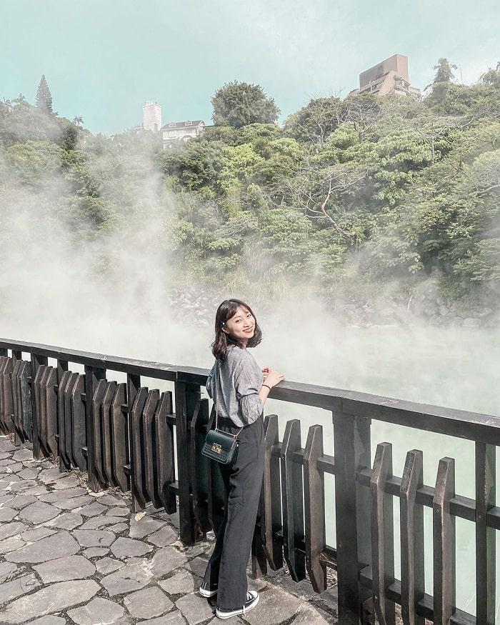 thung lũng nhiệt - điểm nóng nhất tại  suối nước nóng Xinbeitou