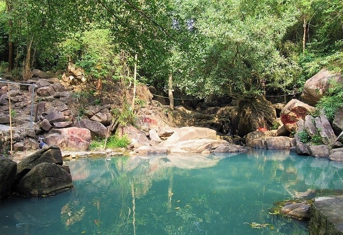 Fairy Stream is close to Quang Buddha Temple in Ba Ria - Vung Tau