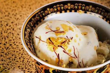 Mở mang tầm mắt với những món ăn phủ vàng ở Dubai cực xa xỉ