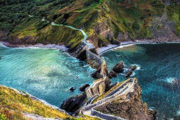 Khám phá đảo San Juan de Gaztelugatxe trong phim 'Game of Thrones'
