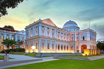 Trải nghiệm đầy thú vị khi khám phá bảo tàng Quốc gia Singapore