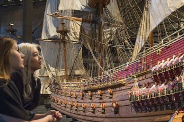 Tham quan bảo tàng Vasa Thụy Điển khám phá con tàu bị chìm dưới lòng đại dương