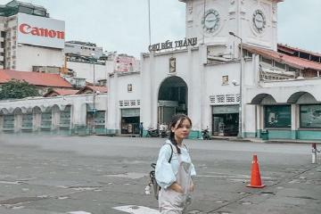 Khám phá đặc trưng Sài Gòn qua khu chợ Bến Thành nổi tiếng