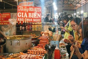 No bụng với những khu chợ ẩm thực Hải Phòng giá rẻ, đồ ăn ngon