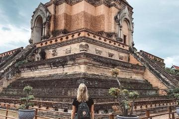 Cổ kính ngôi chùa Chedi Luang ở Chiang Mai