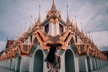 Chùa Loha Prasat - ngôi chùa kim loại độc lạ ở Thái Lan