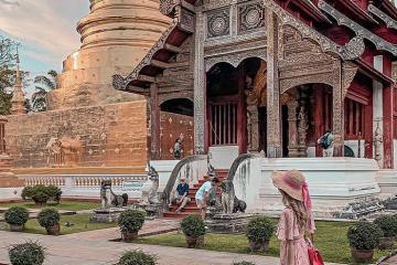 Chùa Wat Phra Singh - ngôi chùa Phật giáo linh thiêng ở Chiang Mai