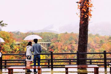 Hẻm núi Naruko Gorge Nhật Bản - top điểm đến mùa thu đẹp nhất thế giới