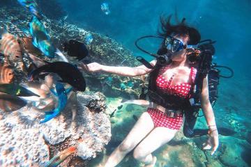 Kinh nghiệm lặn biển ở Nha Trang ngắm nhìn đại dương lung linh kỳ ảo