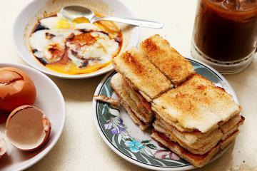 Đổ đứ đừ trước những món ăn sáng ngon tuyệt cú mèo ở Singapore
