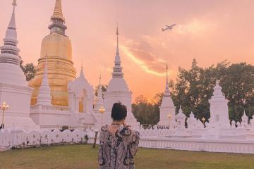 Đến chùa Wat Suan Dok Chiang Mai chiêm ngưỡng bảo tháp tuyệt đẹp
