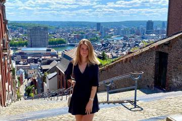 Núi bậc thang ở Liege Bỉ - một trong những cầu thang đặc biệt nhất thế giới!