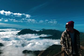'Săn mây' trên đỉnh núi Phu Chi Fa ở Chiang Rai