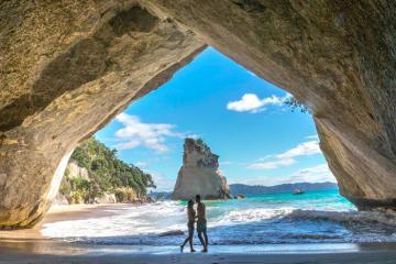 Top những bãi biển đẹp ở đảo Bắc New Zealand dành cho người yêu thích tự nhiên