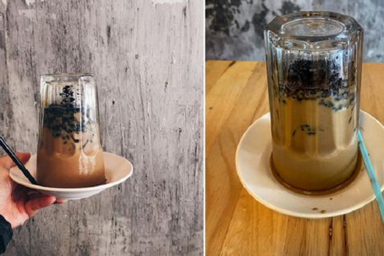Món cà phê chính thức tham gia vào đường đua 'úp ngược'
