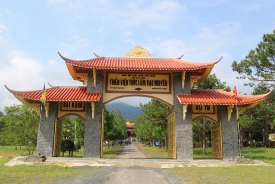 Lắng lòng tại Thiền Viện Trúc Lâm Đạo Nguyên ở Đắk Nông