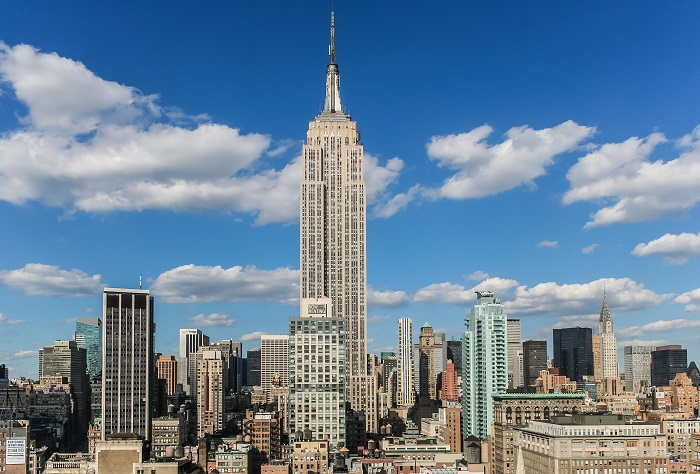 Explore the spectacular Empire State Building in New York