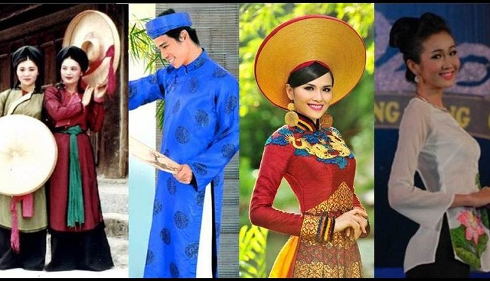 About the Vietnamese ethnic community - the costumes of the Kinh people