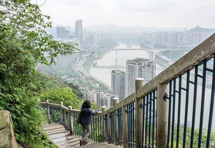 tòa nhà nằm ngang cao nhất thế giới ở Trùng Khánh