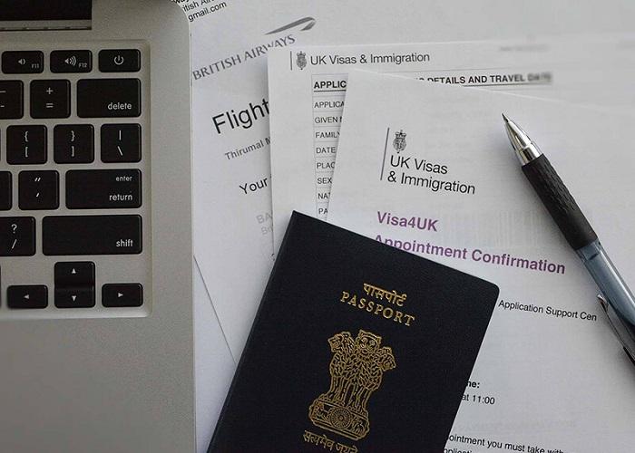 xin visa du lịch Anh - tờ khai xin visa du lịch Anh