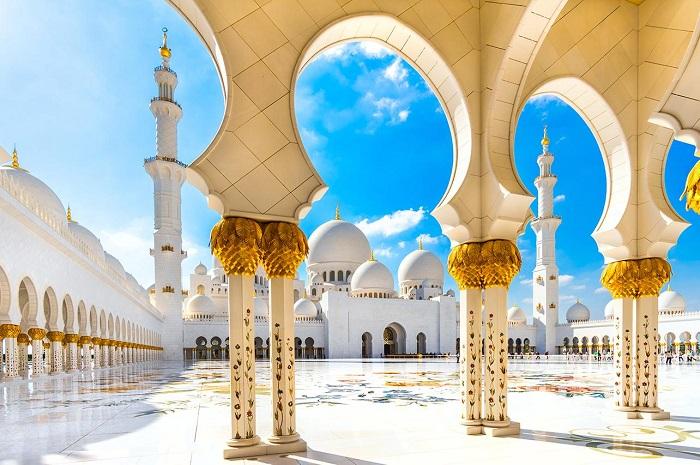 Thánh đường Hồi giáo Sheikh Zayed - Kinh nghiệm du lịch Trung Đông